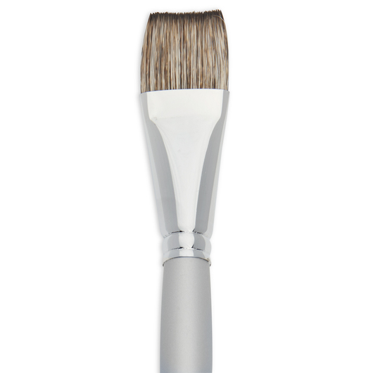 Faux Squirrel Brush - Flat Size 1