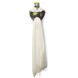 Natural Scarf - 20 in. x 70 in.