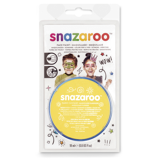 Snazaroo™ Face Paint - 0.61-oz. (18 ml) Compact - Bright Yellow