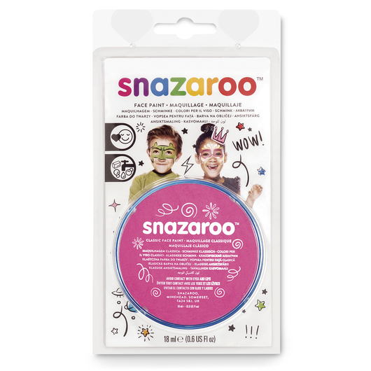 Snazaroo™ Face Paint - 0.61-oz. (18 ml) Compact - Bright Pink
