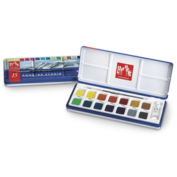 Caran d'Ache Gouache Studio Pan Set of 15