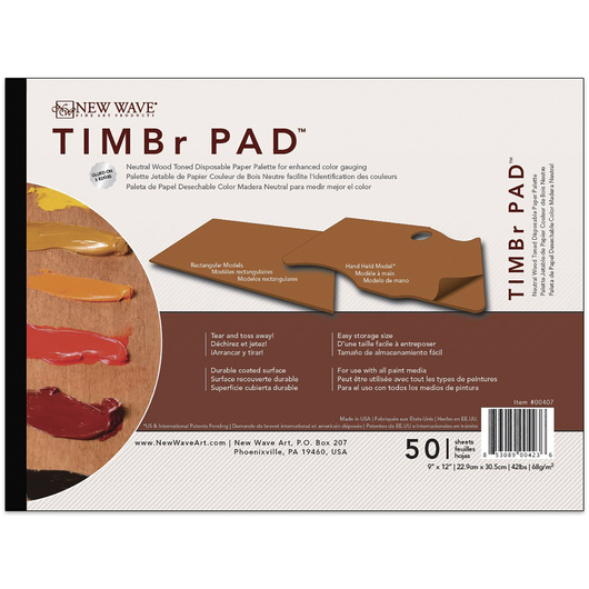 New Wave® TIMBr Pad™ - Hand-Held Model - 9 in. x 12 in. - 50 Sheets