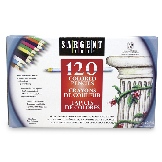 Sargent Art® Colored Pencils Set of 120 - 7 in. L