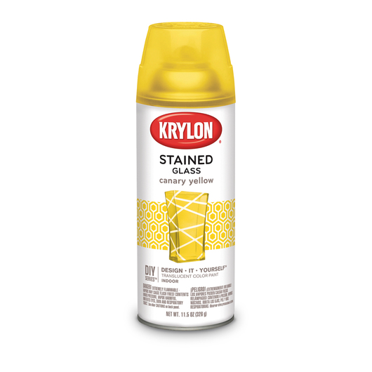 Krylon® Stained Glass Paint - 11-1/2 oz. - Canary Yellow