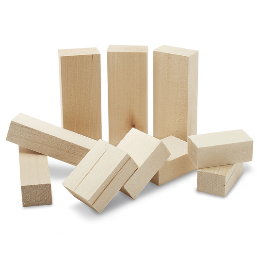 Basswood Whittler's Kit - Pkg. of 10