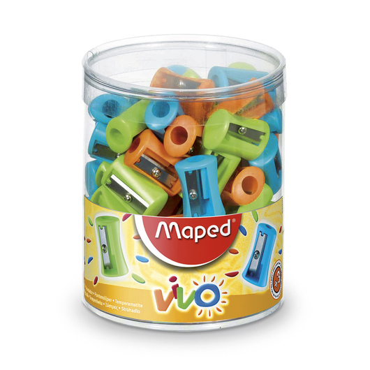 Maped® Vivo One-Hole Sharpeners - Box of 75