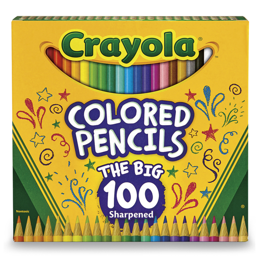 Crayola® Colored Pencils - Set of 100