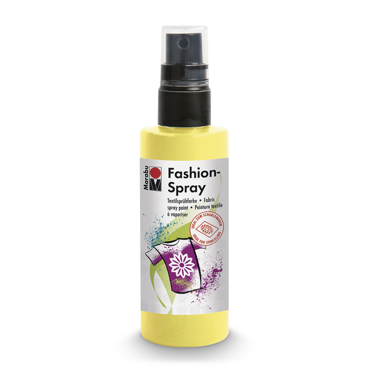 Marabu Fashion Spray 3.38-oz. (100 ml) Bottle - Lemon