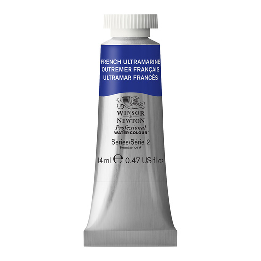Winsor & Newton™ Professional Watercolor - 0.47-oz. (14 ml) Tube - French Ultramarine