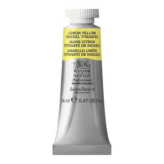 Winsor & Newton™ Professional Watercolor - 0.47-oz. (14 ml) Tube - Lemon Yellow Hue