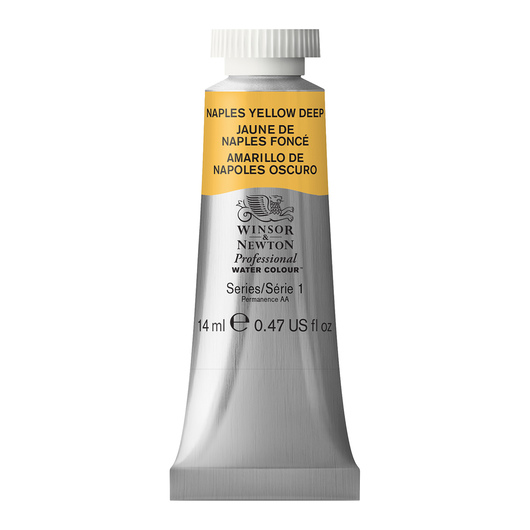 Winsor & Newton™ Professional Watercolor - 0.47-oz. (14 ml) Tube - Naples Yellow Deep