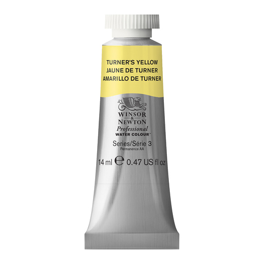Winsor & Newton™ Professional Watercolor - 0.47-oz. (14 ml) Tube - Turners Yellow