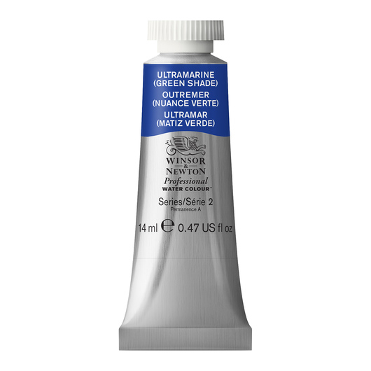 Winsor & Newton™ Professional Watercolor - 0.47-oz. (14 ml) Tube - Ultramarine Green Shade