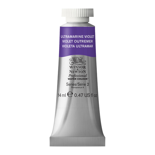 Winsor & Newton™ Professional Watercolor - 0.47-oz. (14 ml) Tube - Ultramarine Violet