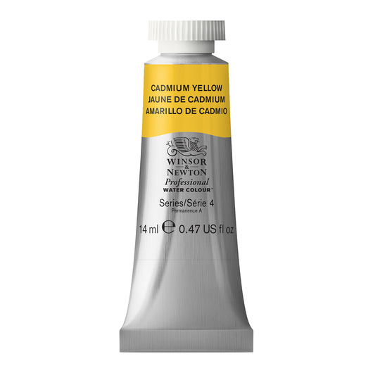 Winsor & Newton™ Professional Watercolor - 0.47-oz. (14 ml) Tube - Cadmium Yellow
