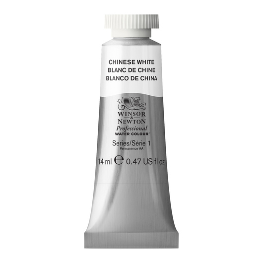 Winsor & Newton™ Professional Watercolor - 0.47-oz. (14 ml) Tube - Chinese White