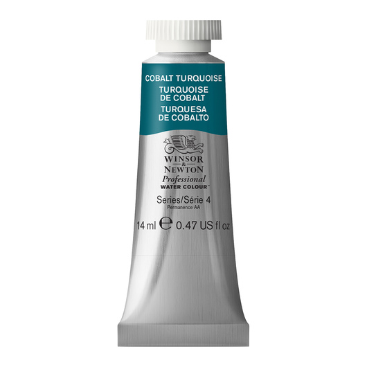 Winsor & Newton™ Professional Watercolor - 0.47-oz. (14 ml) Tube - Cobalt Turquoise