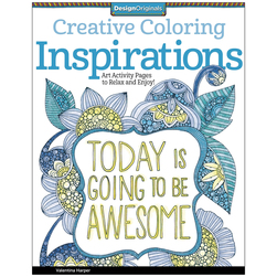 Adult Coloring Book - Inspirations