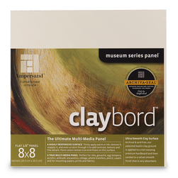 Museum Series Claybord™ - 8 in. x 8 in.