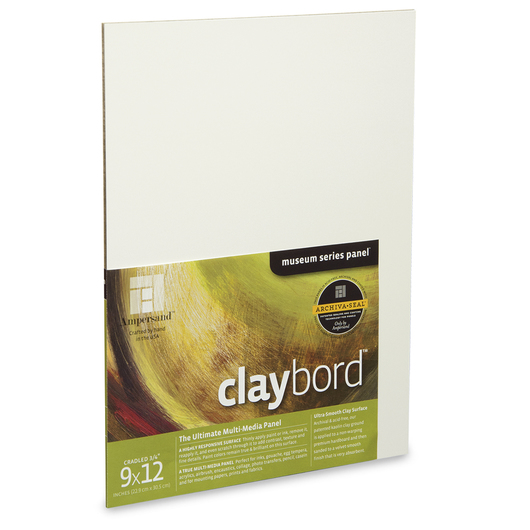Museum Series Claybord™ - 9 in. x 12 in.