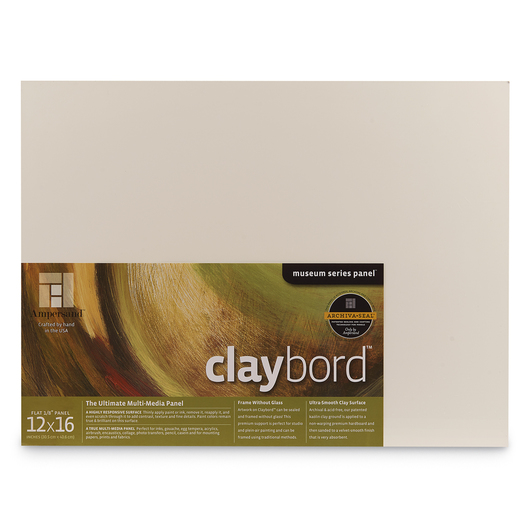 Museum Series Claybord™ - 12 in. x 16 in.
