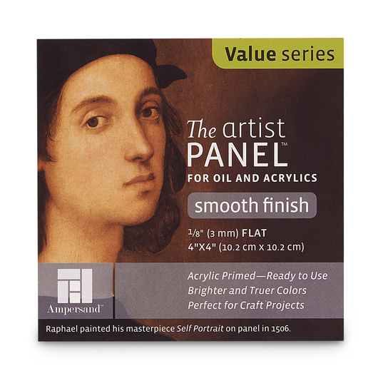 Scholastic Series The Artist Panel™ - 4 in. x 4 in.