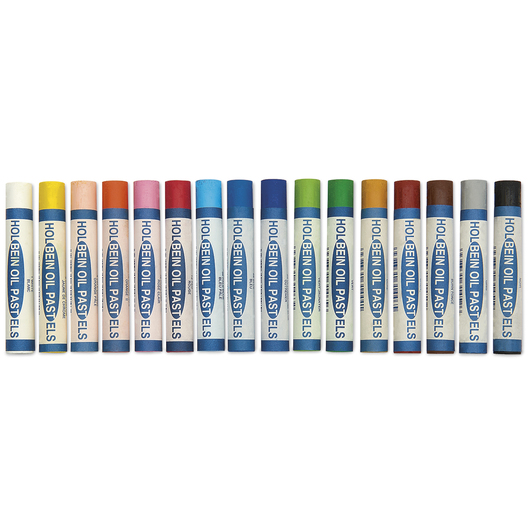 Holbein Academic Oil Pastels - Set of 16