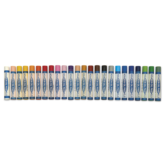 Holbein Academic Oil Pastels - Set of 24