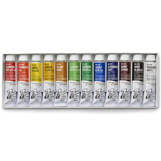 DUO Aqua Oil Colors - Starter Set of 12