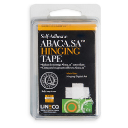 Abaca Self-Adhesive Paper Hinging Tape
