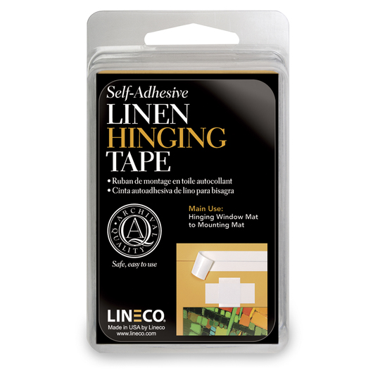 Self-Adhesive Linen Tape - 1-1/4 in. x 12 ft.