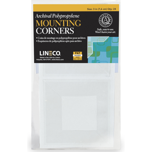 Frame Mounting Corners - 3 in. - Pkg. of 24