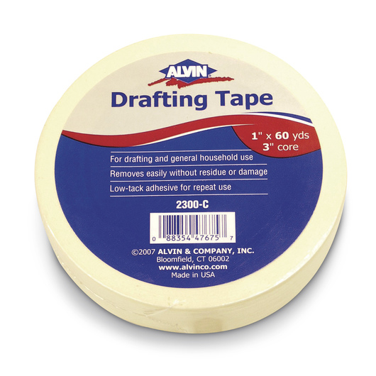 Alvin® Drafting Tape - 1 in. x 60-yd. Roll