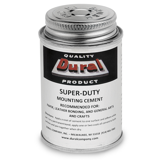 Dural Super-Duty Mounting Cement - 4 oz.
