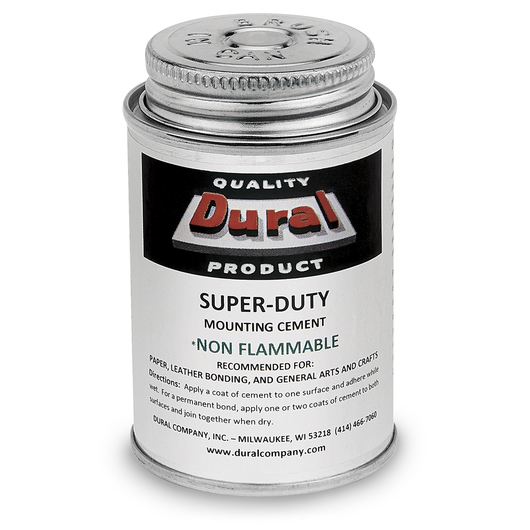 Dural Super-Duty Non-Flammable Mounting Cement - 4 oz.