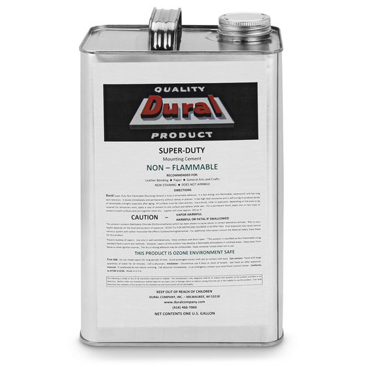 Dural Super-Duty Non-Flammable Mounting Cement - Gallon