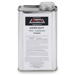 SuperDuty NonFlammable Mounting Cement Thinner