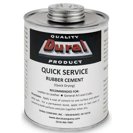 Dural Quick Service Rubber Cement - Quart