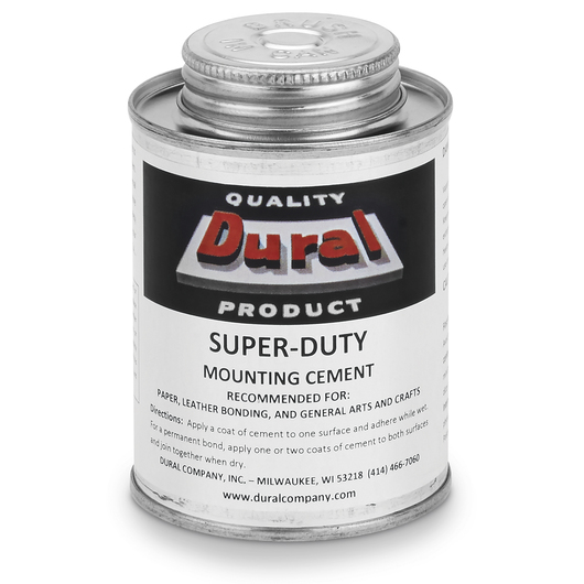 Dural Super-Duty Mounting Cement - 8 oz.