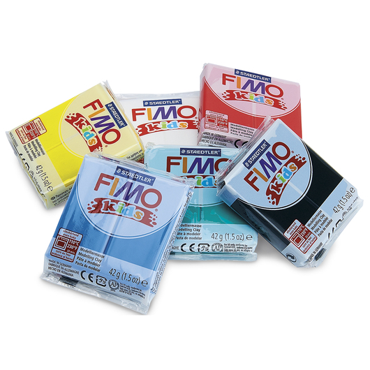 FIMO® Kids Modeling Clay - Basic Color Pack