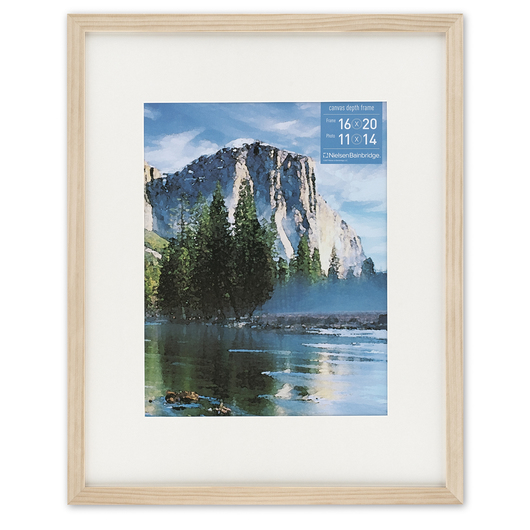 NielsenBainbridge™ Gallery Collection Artist Frame - Ash Natural - 16 in. x 20 in.