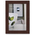 NielsenBainbridge™ EcoCare™ Ready Made Frame - 4 in. x 6 in. - Contemporary Bamboo Mocha
