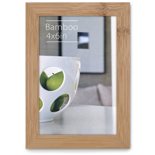 NielsenBainbridge™ EcoCare™ Ready Made Frame - 4 in. x 6 in. - Contemporary Bamboo Natural