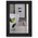 NielsenBainbridge™ EcoCare™ Ready Made Frame - 4 in. x 6 in. - Contemporary Black Rubber Wood