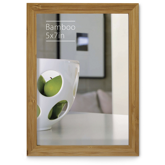 NielsenBainbridge™ EcoCare™ Ready Made Frame - 5 in. x 7 in. - Contemporary Bamboo Natural