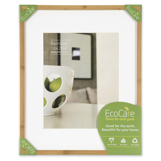 NielsenBainbridge™ EcoCare™ Ready Made Frame - 16 in. x 20 in. - Contemporary Bamboo Natural