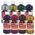 Sargent Art® Art-Time® Washable Glitter Tempera Paints - Set of 8 Pints