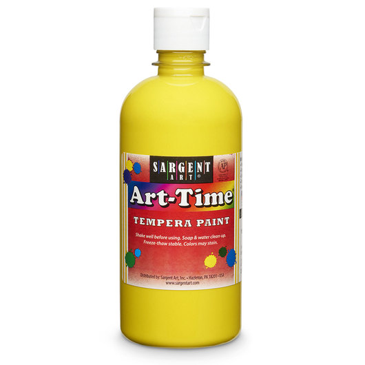Sargent Art® Art-Time® Tempera Original Paint - Pint - Yellow