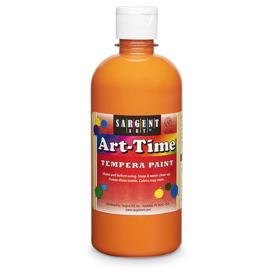 Sargent Art® Art-Time® Tempera Original Paint - Pint - Orange