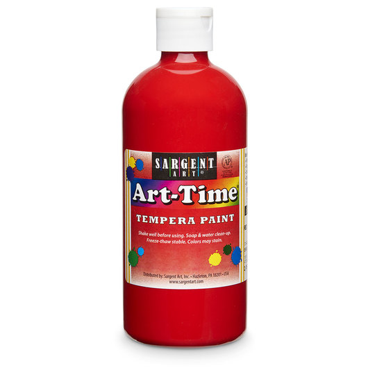 Sargent Art® Art-Time® Tempera Original Paint - Pint - Red